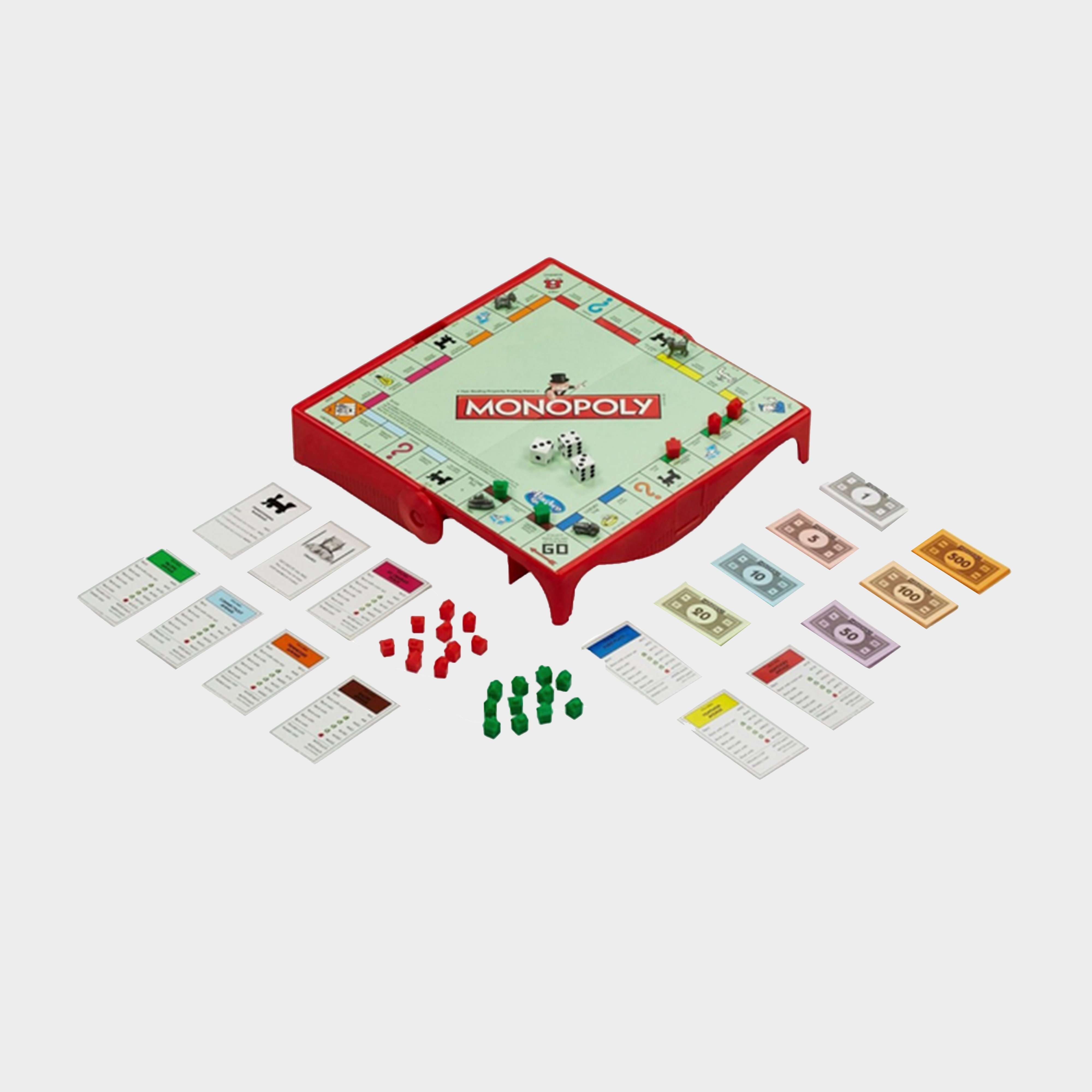 HASBRO Travel Monopoly Card Game
