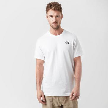White The North Face Men's Simple Dome T-Shirt