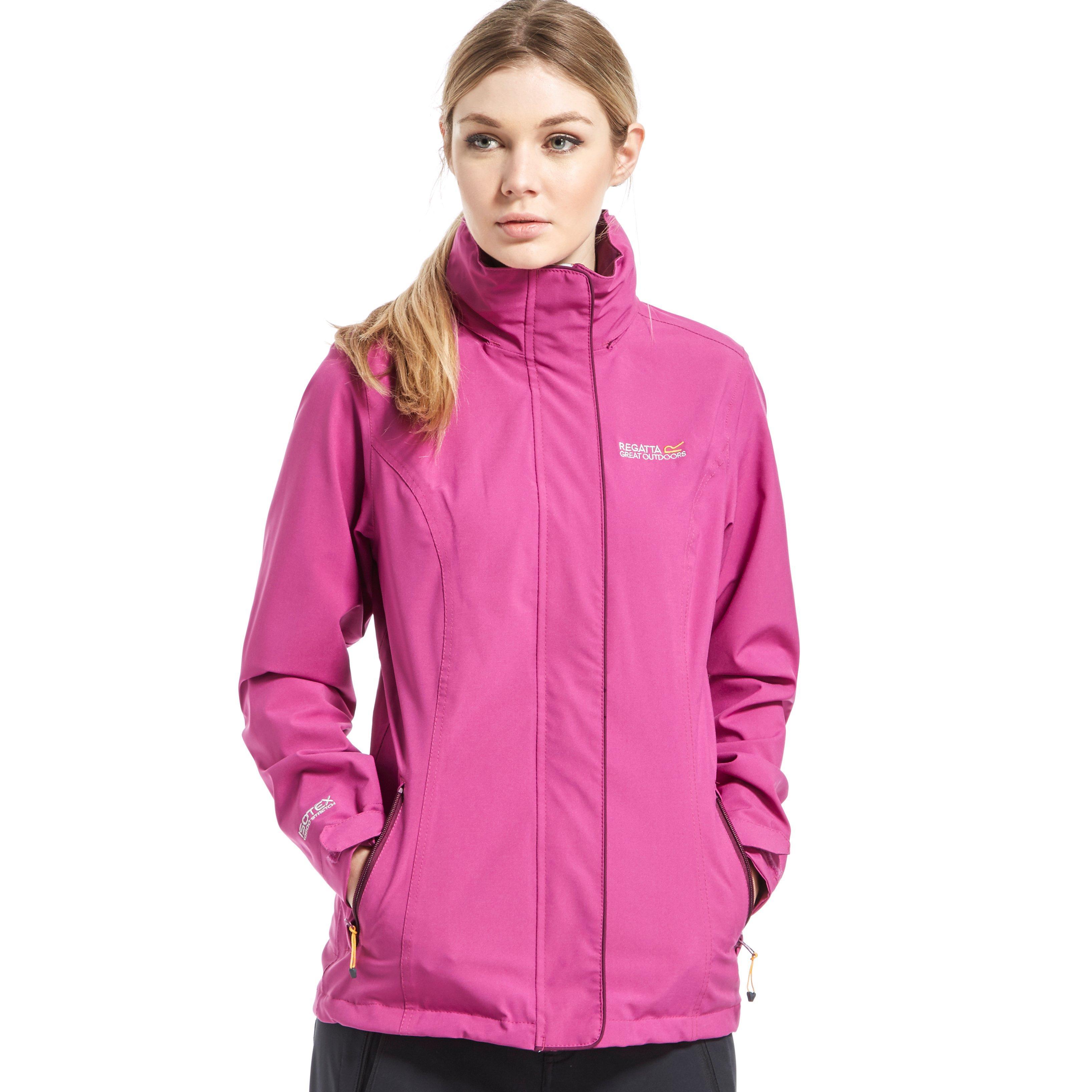 Regatta Womens Keeta Stretch Jacket Pink
