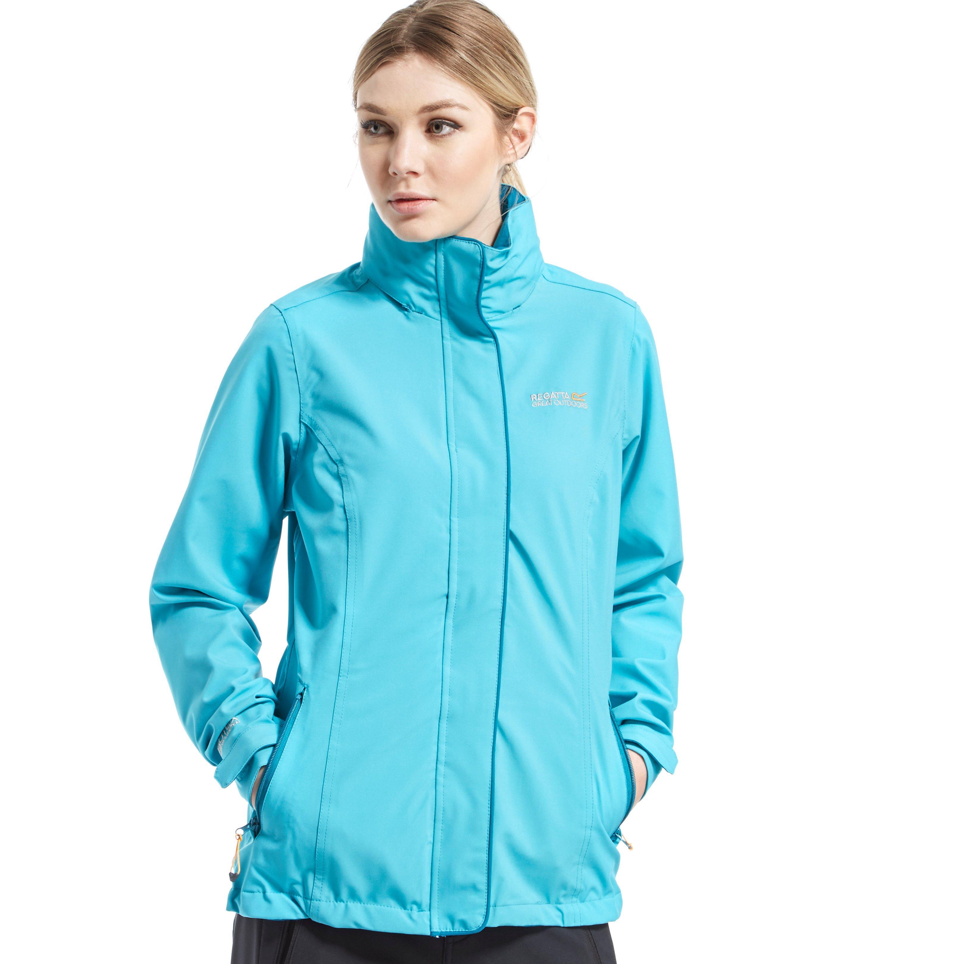 Regatta Womens Keeta Stretch Jacket Blue