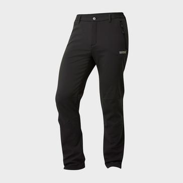 Black Regatta Men's Geo Softshell Trousers