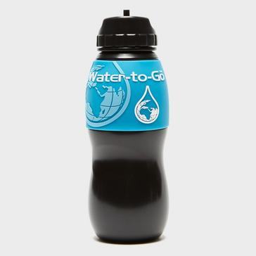 Black Water-To-Go Filtered Water Bottle 750ml
