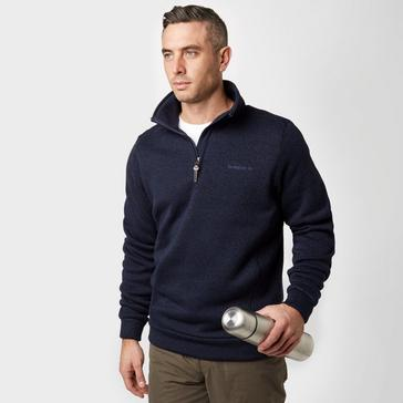 Blue Brasher Men's Rydal Half Zip Knit Fleece