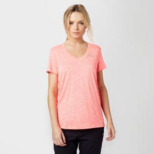 UNDER ARMOUR Women's UA Tech™ V-Neck Twist T-Shirt