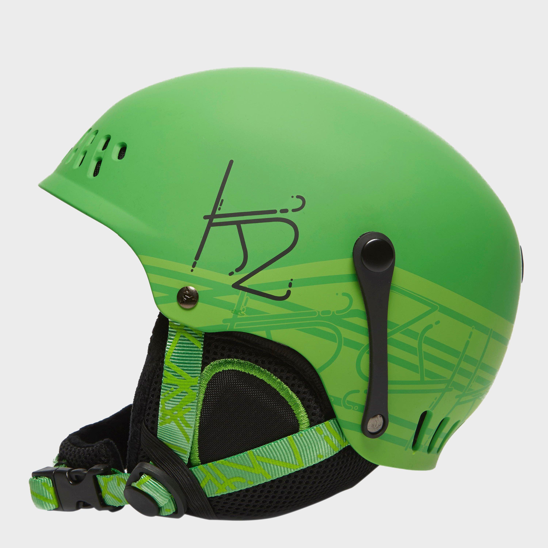 K2 Junior Entity Ski Helmet Green