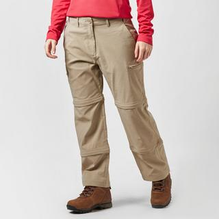 Women's Stretch Double Zip Off Trousers - Short