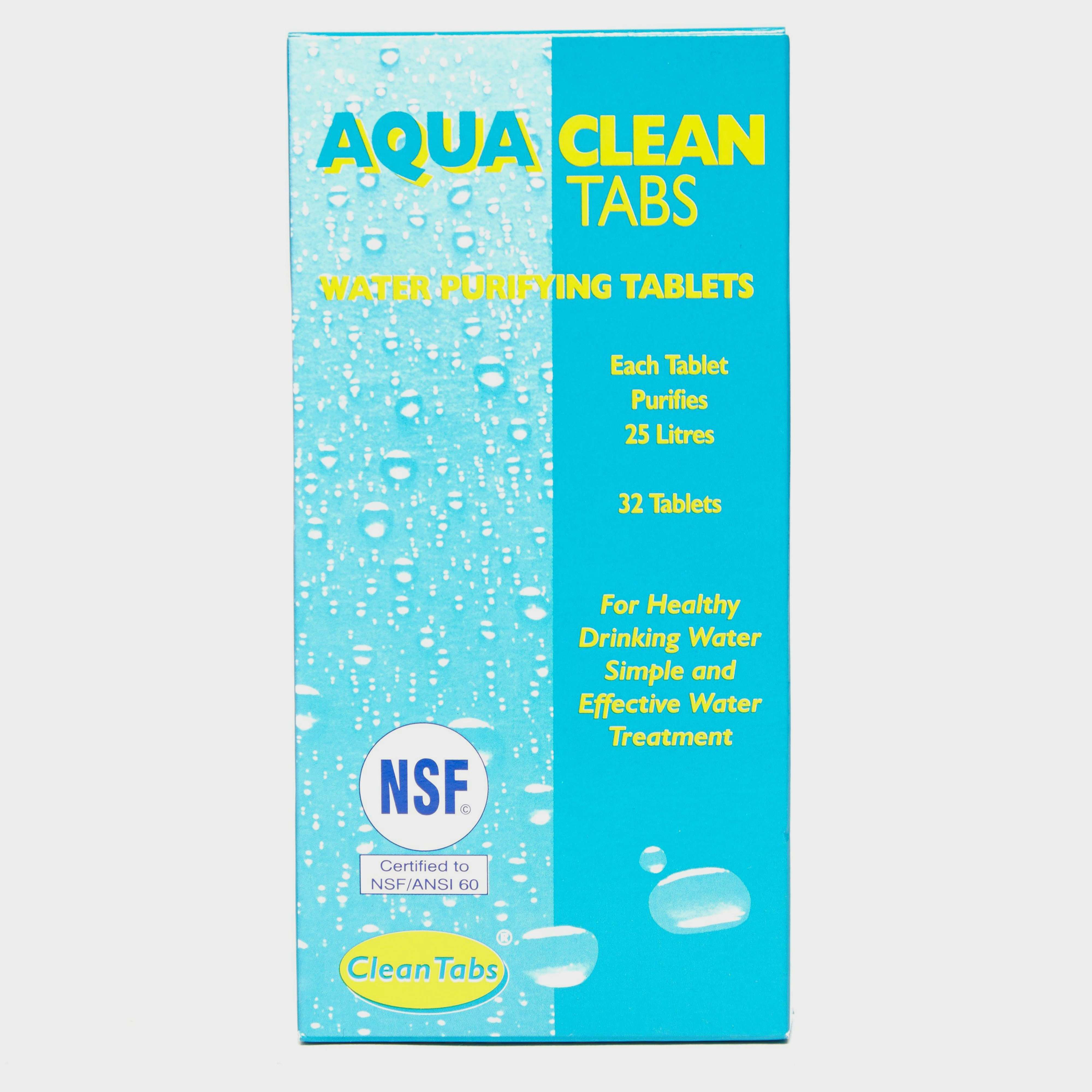 QUEST Aqua Clean Water Purifying Tablets