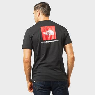 Black The North Face Men's Redbox Short Sleeve Tee