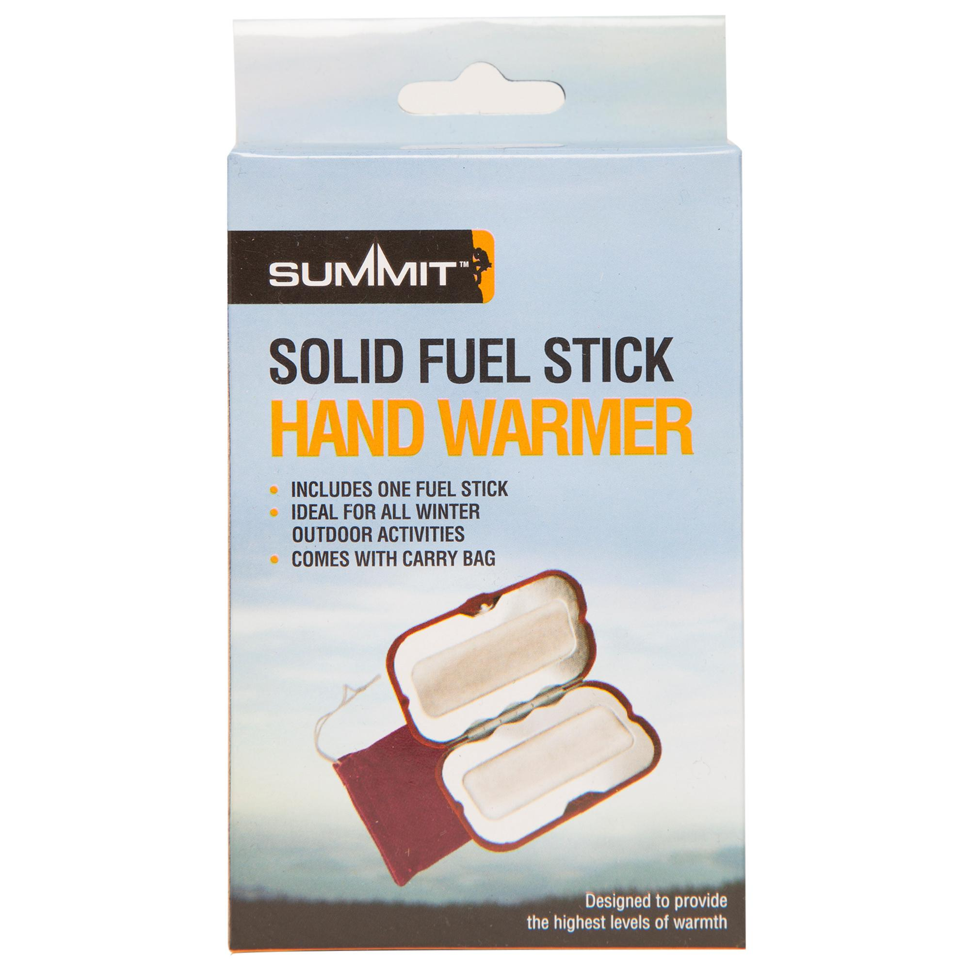 Summit Solid Fuel Stick Hand Warmer Red