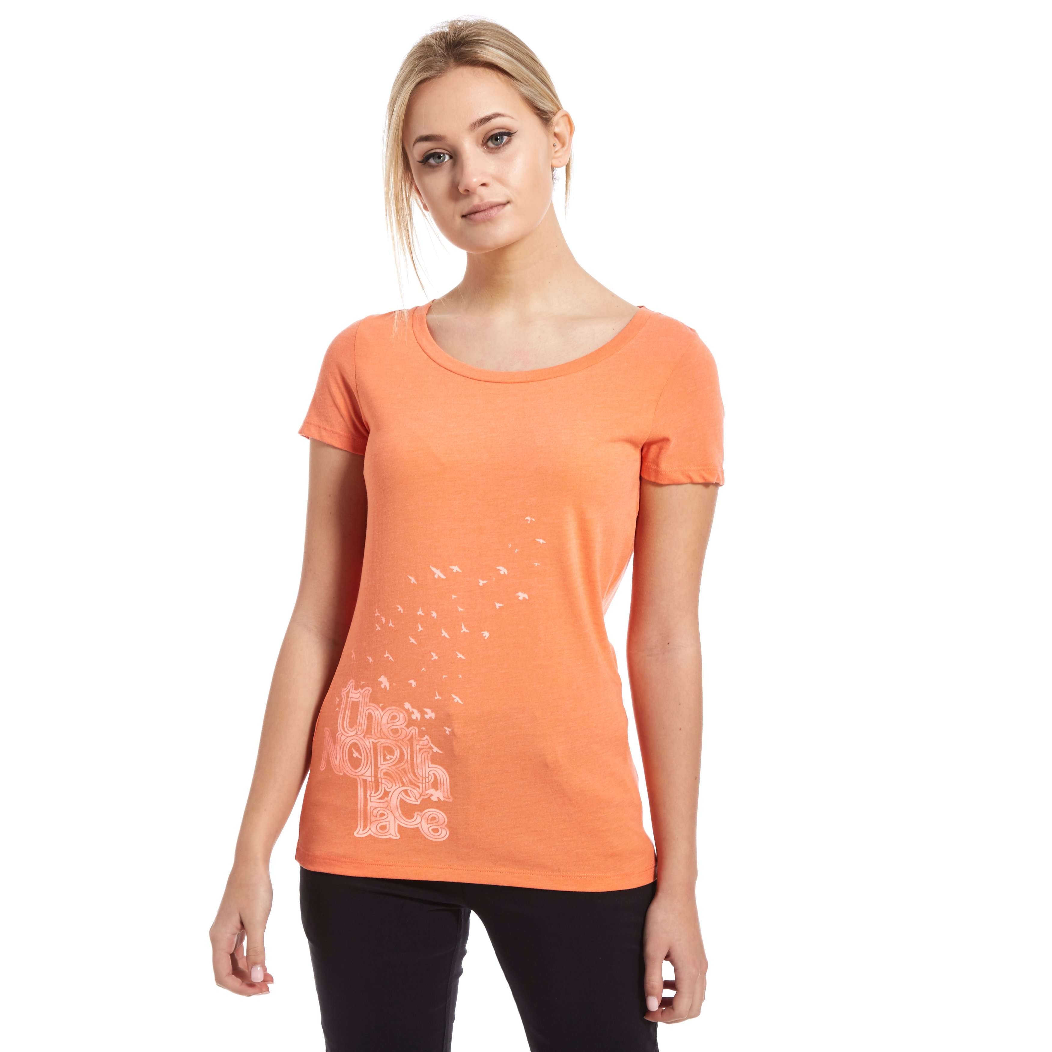 THE NORTH FACE Women's Birds & Clouds T-Shirt