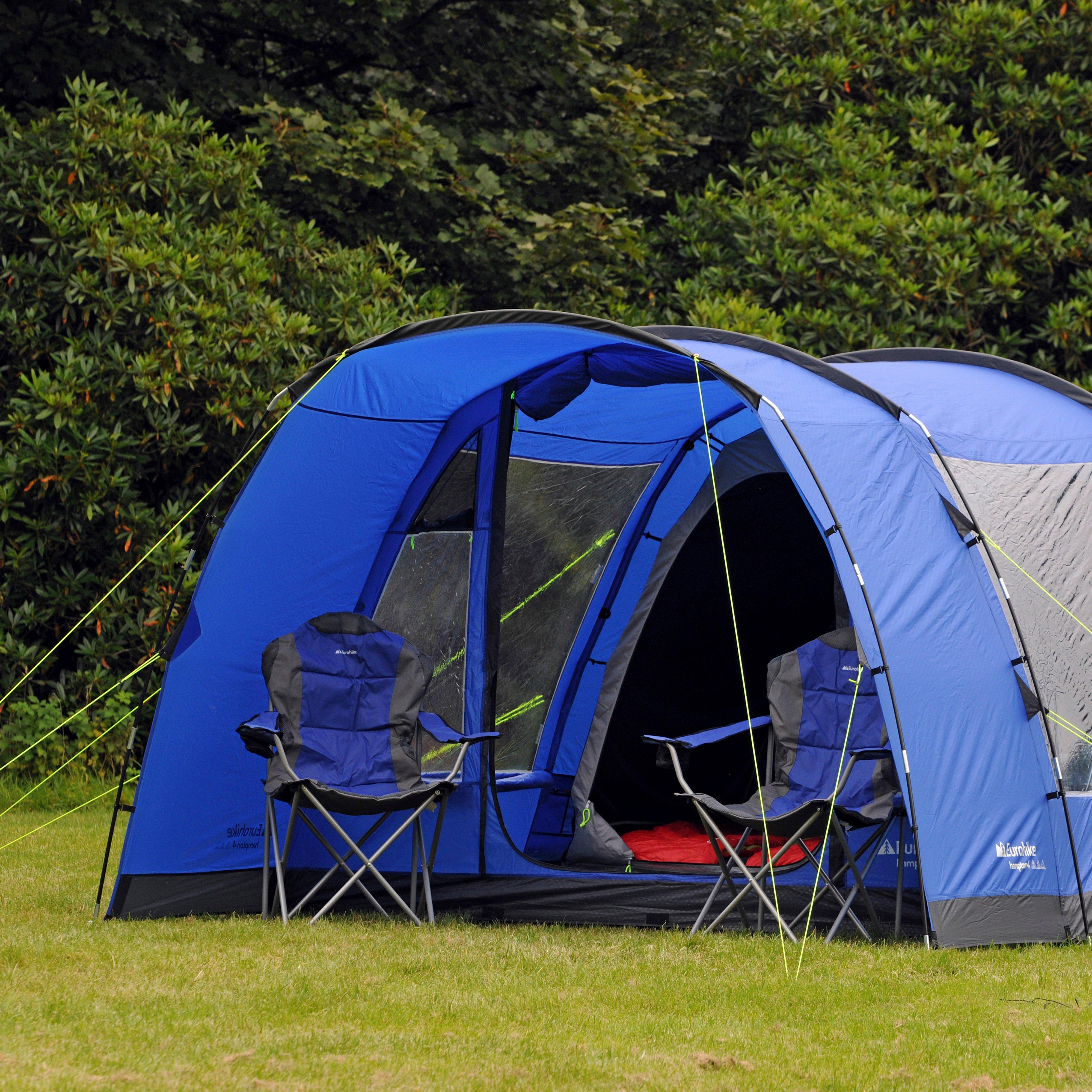 EUROHIKE H&ton 4 Family Tent & EUROHIKE Hampton 4 Family Tent | Millets