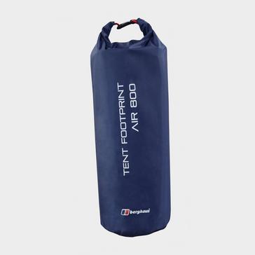 Black Berghaus Air 8 Tent Footprint