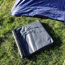 Grey|Grey Berghaus Air 8 Tent Footprint image 4