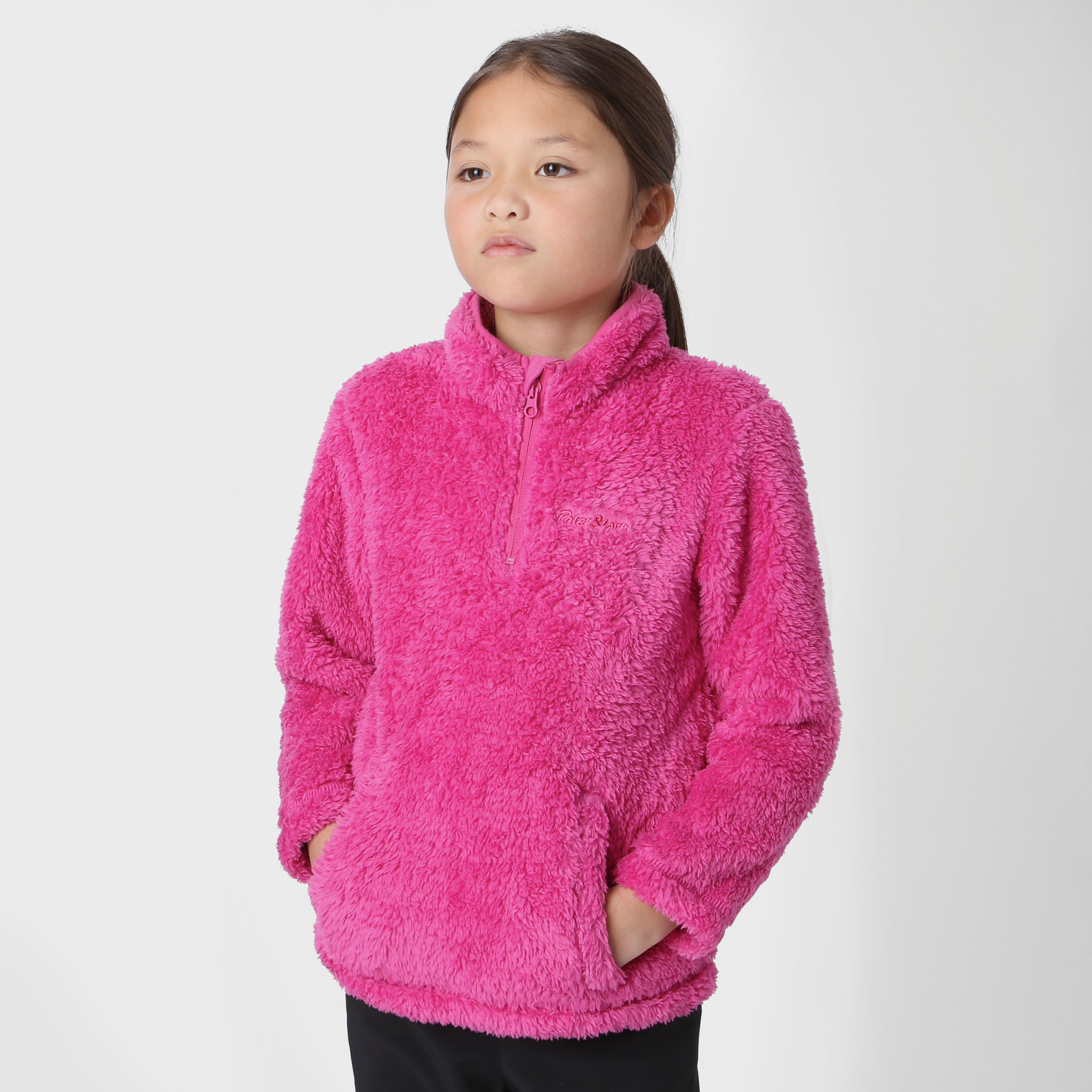Peter Storm Girls' Teddy Half Zip Fleece
