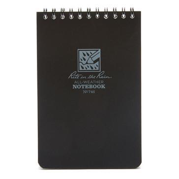 Black Rite Waterproof Notepad (6x4
