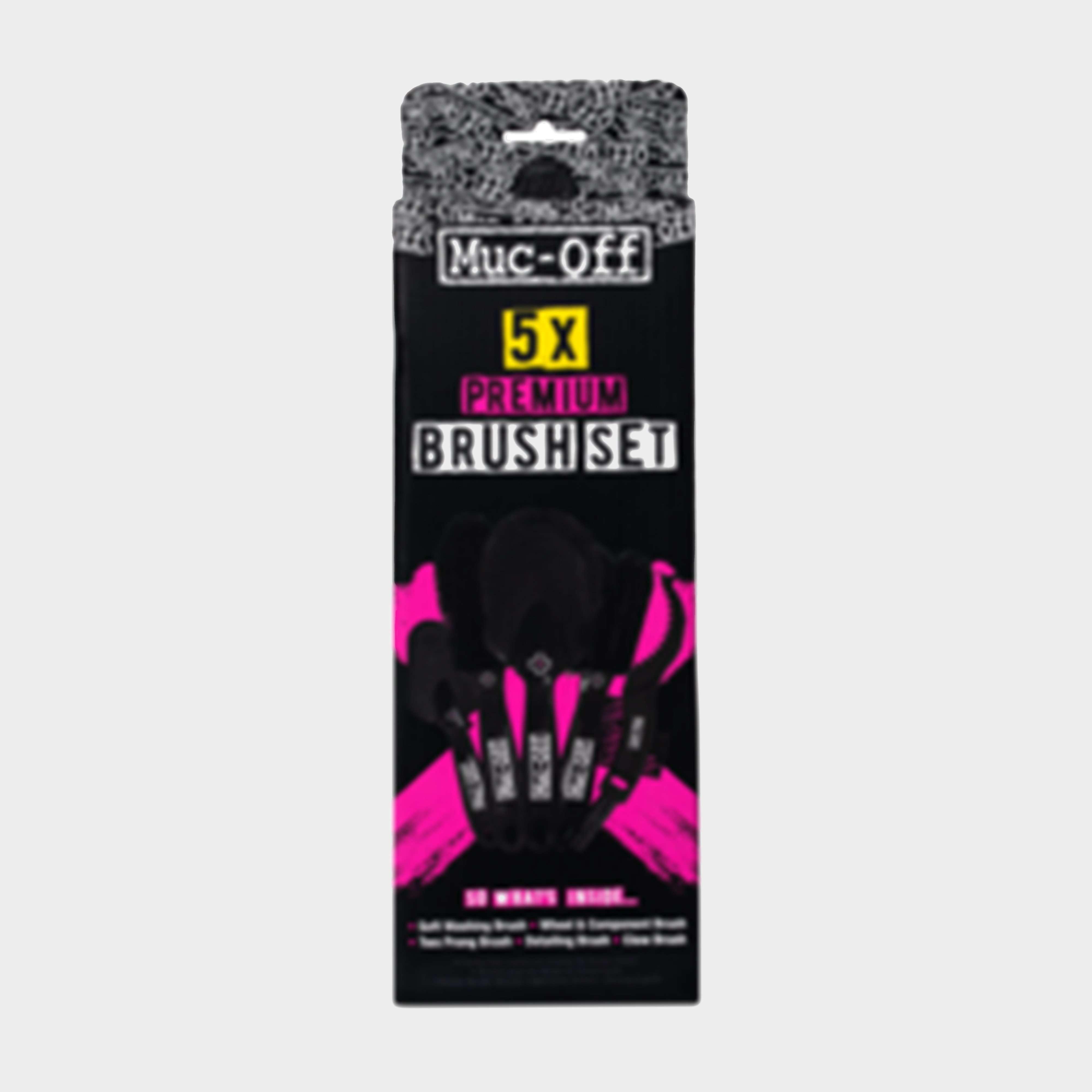 MUC OFF 5 x Premium Brush Set