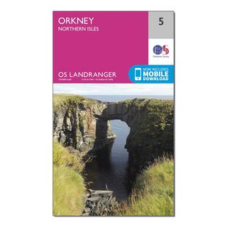 Landranger 5 Orkney  Northern Isles Map With Digital Version