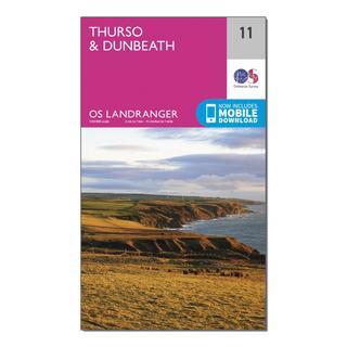 Landranger 11 Thurso & Dunbeath Map With Digital Version