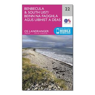 Landranger 22 Benbecula & South Uist Map With Digital Version