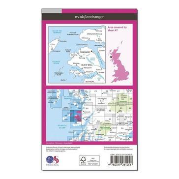 Orange Ordnance Survey Landranger 47 Tobermory & North Mull Map With Digital Version