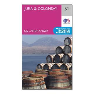 Landranger 61 Jura & Colonsay Map With Digital Version