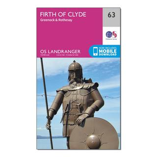 Landranger 63 Firth of Clyde, Greenock & Rothesay Map With Digital Version