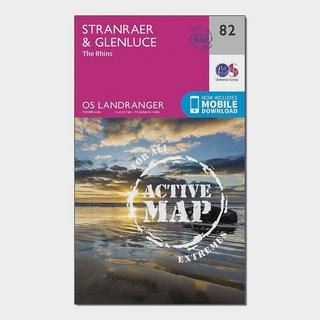 Landranger Active 82 Stranraer & Glenluce Map With Digital Version