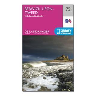 Landranger 75 Berwick-upon-Tweed Map With Digital Version