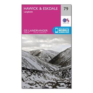 Landranger 79 Hawick & Eskdale, Langholm Map With Digital Version