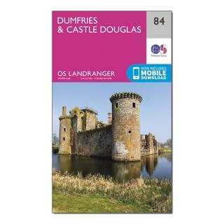 Landranger 84 Dumfries & Castle Douglas Map With Digital Version