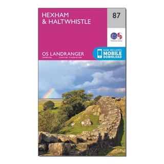 Landranger 87 Hexham & Haltwhistle Map With Digital Version