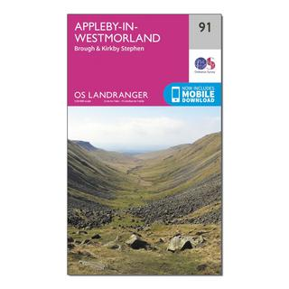 Landranger 91 Appleby-in-Westmorland Map With Digital Version