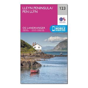ORDNANCE SURVEY Landranger 123 Lleyn Peninsula Map With Digital Version