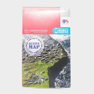 Landranger Active 7 Orkney  Southern Isles Map With Digital Version
