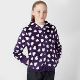 Girls' Heart Full Zip Fleece
