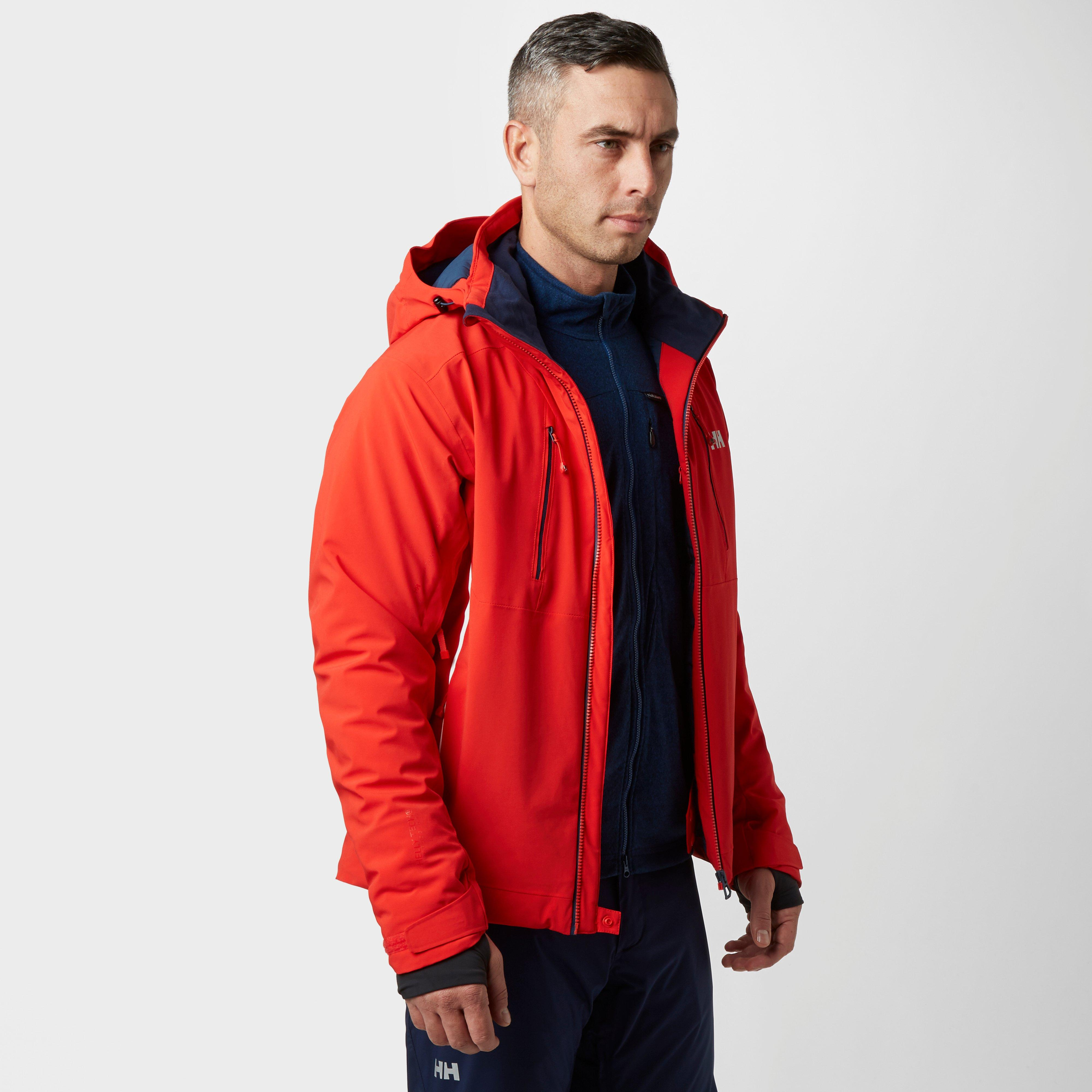 Helly Hansen Mens Alpha 2.0 Ski Jacket Red