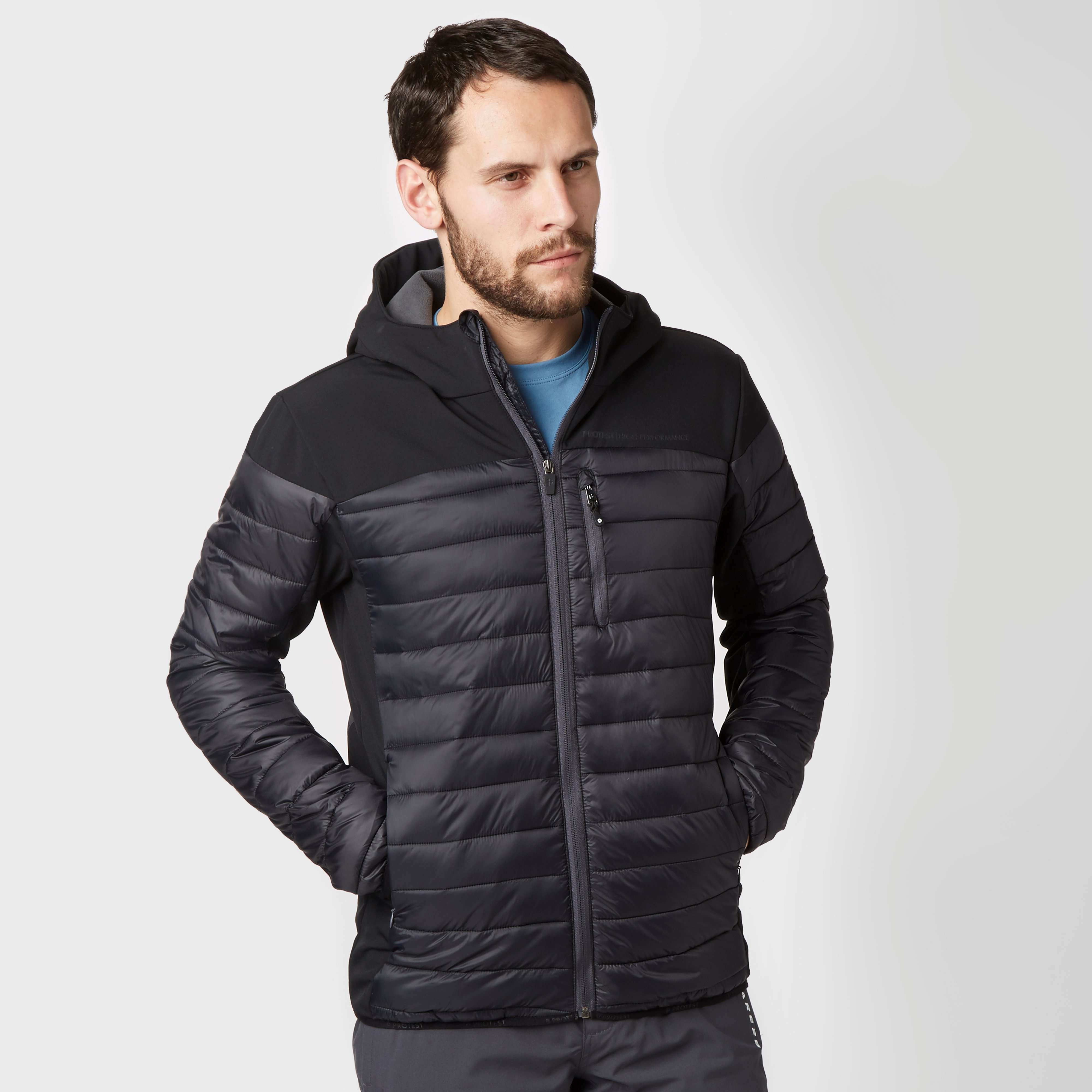 PROTEST Men's Update Hooded Insulated Jacket
