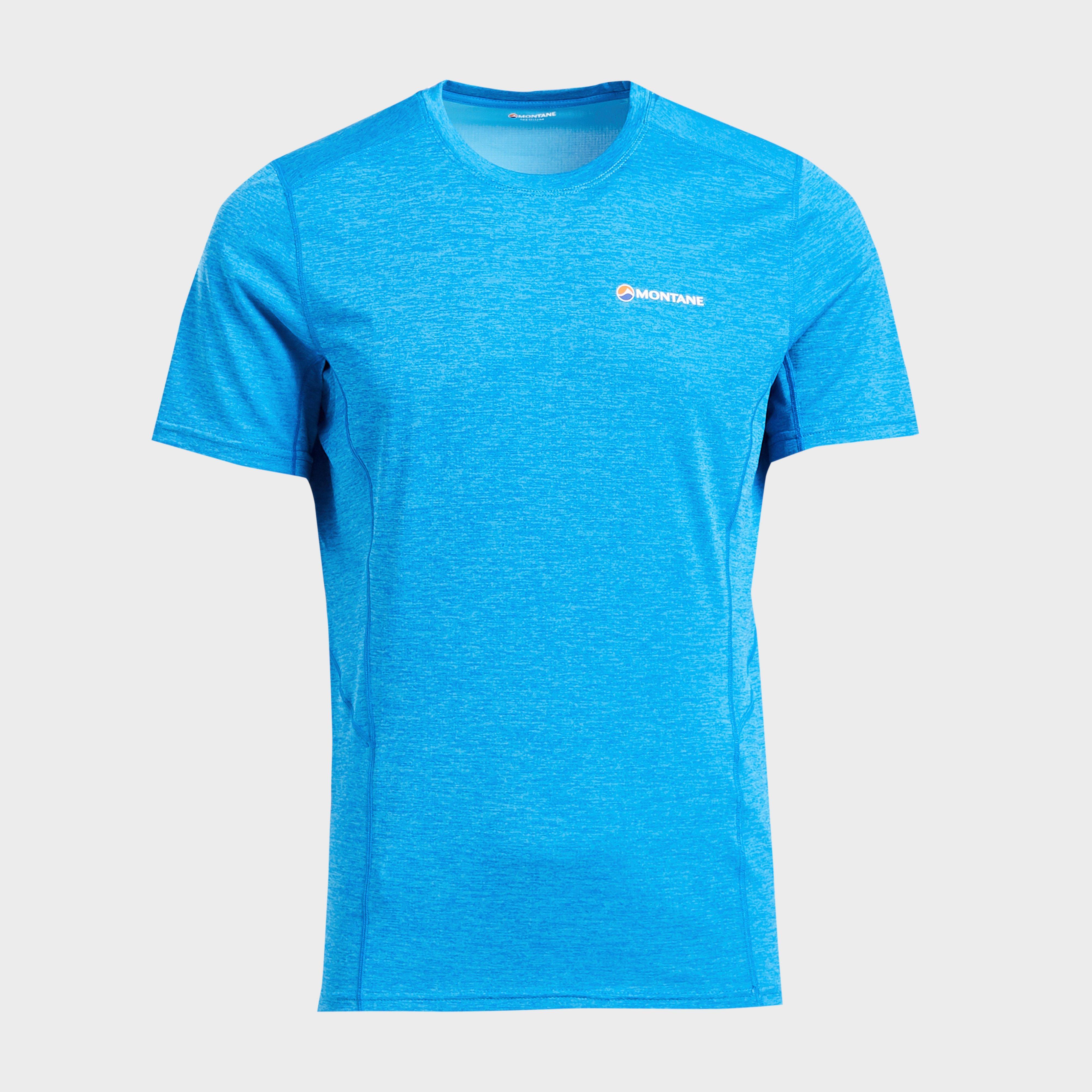 Montane Montane Mens Dart T-Shirt - Blue, Blue