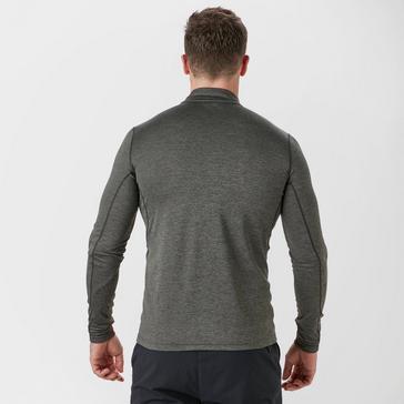 Grey|Grey Montane Men's Dart Zip T-Shirt