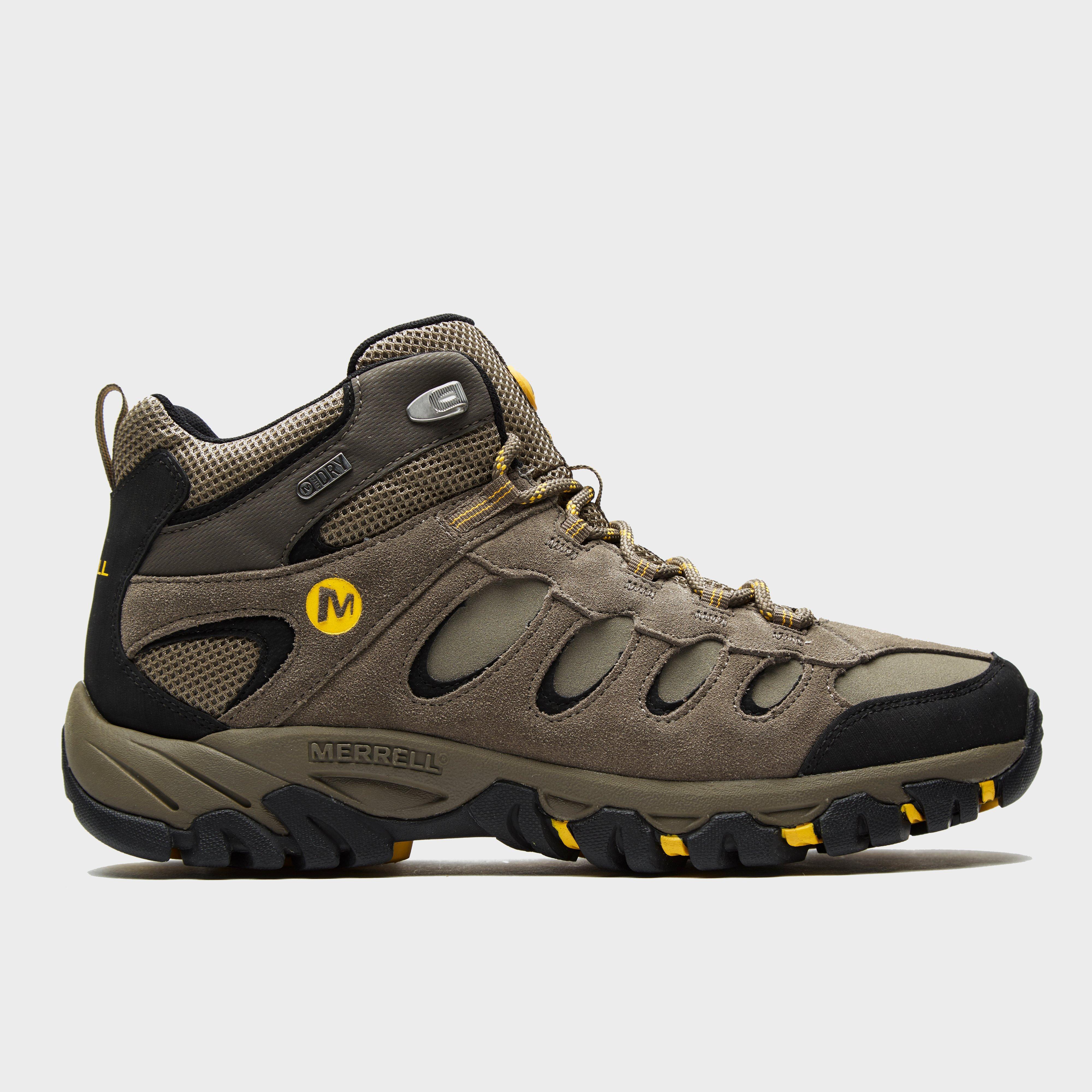 Merrell Men S Ridgepass Mid Waterproof Shoes