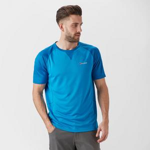BERGHAUS Men's Tech Tee SS Crew 2.0