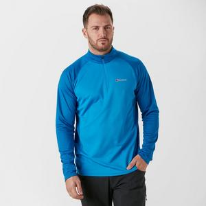 BERGHAUS Men's Tech LS Zip Tee 2.0