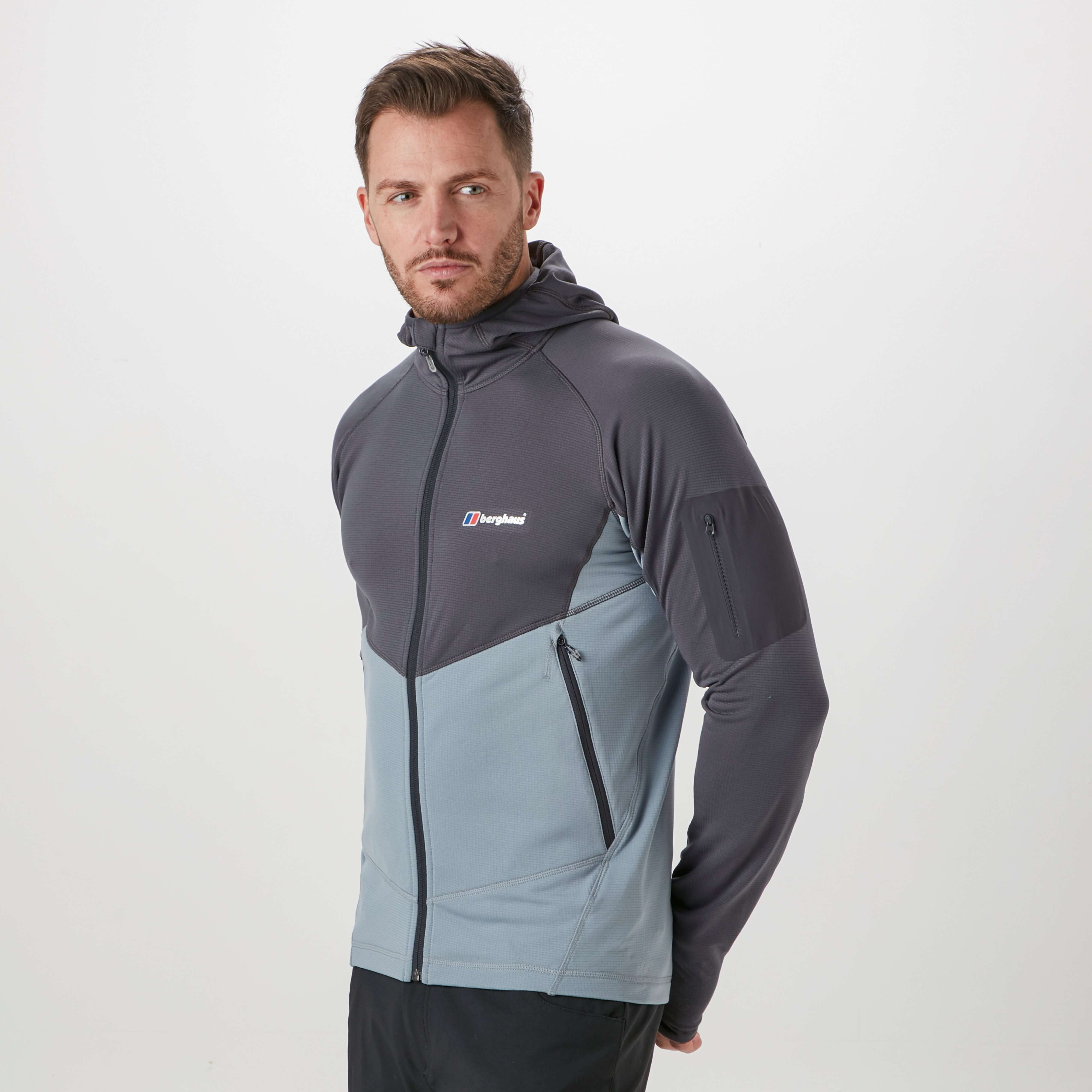 BERGHAUS Men's Privatale 2.0 Hooded Fleece Jacket