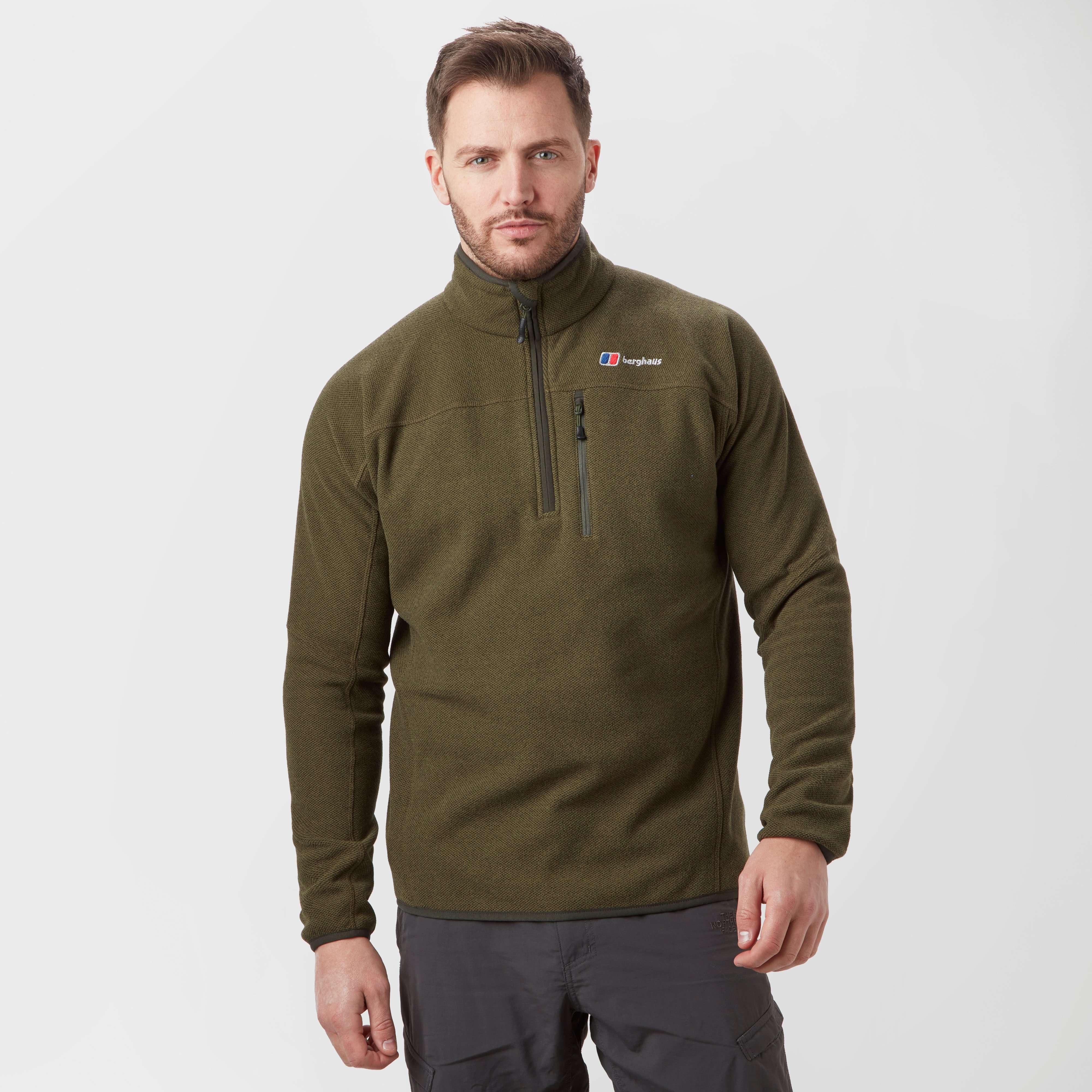 BERGHAUS Men's Stainton Half Zip Fleece