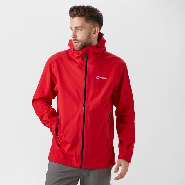 Berghaus Mens Ridgemaster GORE-TEX Jacket Top Black Sports Outdoors Full Zip