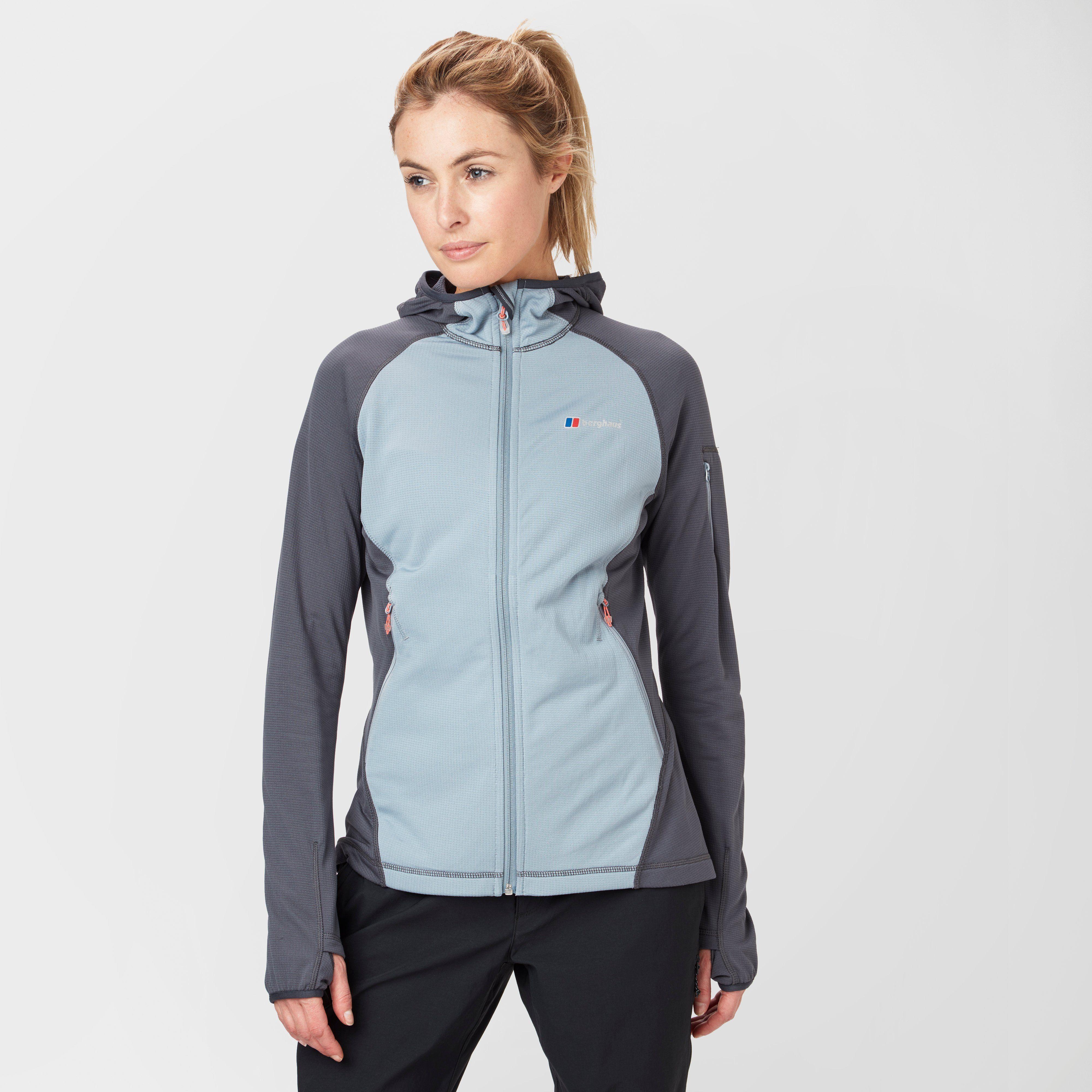 BERGHAUS Women's Pravitale Light 2.0 Hooded Fleece Jacket