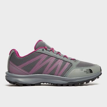 Grey THE NORTH FACE Women s Litewave Fast Pack Shoes ... a9a44985e
