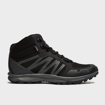 2f7cf30db40 Black THE NORTH FACE Men's Litewave Fastpack Mid GORE-TEX® Boots