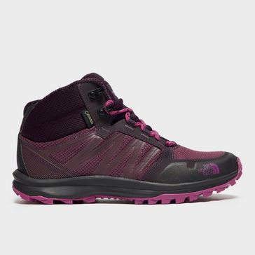 f1e7af9b93b Purple THE NORTH FACE Women s Litewave Fastpack GORE-TEX® Boots ...