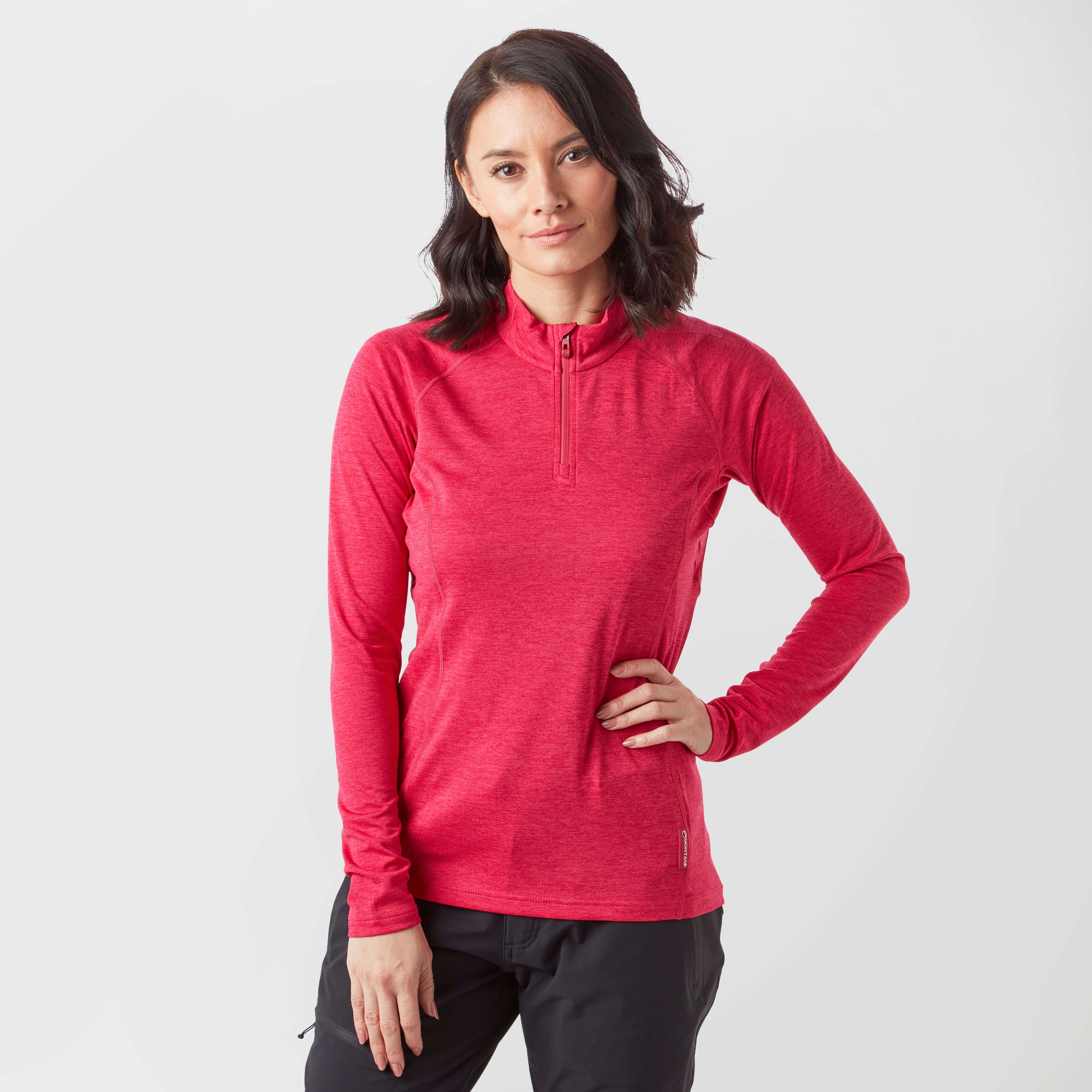MONTANE Women's Dart Zip-Neck T-Shirt